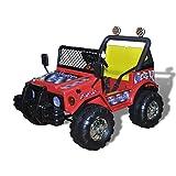 Festnight Kinderauto Elektroauto Kinderfahrzeug Auto Kinder Fahrzeug für Kinder im Alter von 3 – 8 Jahren - Rot