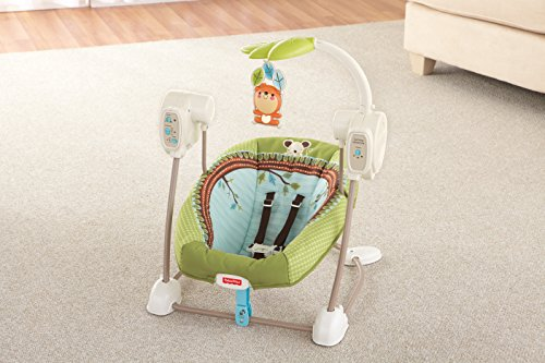 Fisher-Price modelo BBD08 Hamaca bebe electrica bosque - 6
