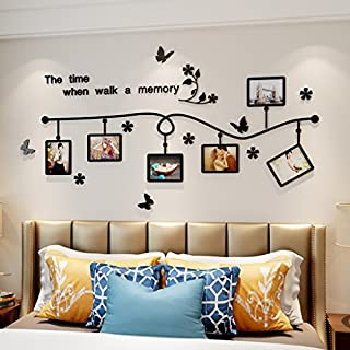 Wall Stickers Removable Wall Decal, Self-adhesive Art Photo Frame Decals, 3D Acrylic Mural,Painting Supplies And Wall Treatments Stickers For Living Room Bedroom,home Decoer Decorations