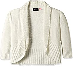 The Childrens Place Girls Cardigan (2070227SV_Snow_XS (4))