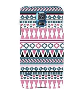 Diamond Shape Pattern 3D Hard Polycarbonate Designer Back Case Cover for Samsung Galaxy S5 G900i :: Samsung Galaxy S5 i9600 :: Samsung Galaxy S5 G900F