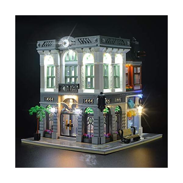 LIGHTAILING Set di Luci per (Creator Expert la Banca) Modello da Costruire - Kit Luce LED Compatibile con Lego 10251(Non… 3 spesavip