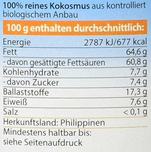Dr. Goerg Premium Bio-Kokosmus, 1er Pack (1 x 1 kg) - 2