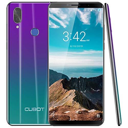 CUBOT X19 S 4G LTE Smartphone ohne Vertrag Handy 5.93″ FHD Display Android 9.0 4GB RAM 4000mAh Akku Dual-Kamera Dual-SIM (Twilight)