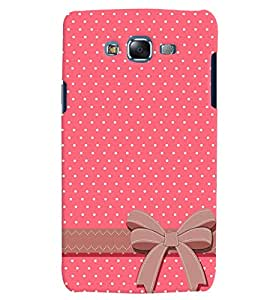 Citydreamz Pink White Dots/Heart/Love/Valentine Hard Polycarbonate Designer Back Case Cover For Samsung Galaxy A5