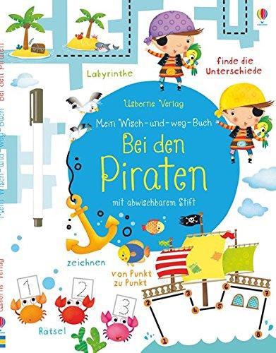 Preisvergleich Produktbild Mein Wisch-und-weg-Buch: Bei den Piraten
