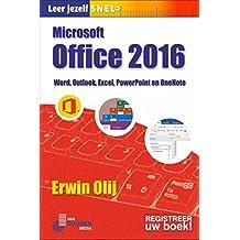 Microsoft Office 2016: Word, Outlook, Excel, Powerpoint en OneNote