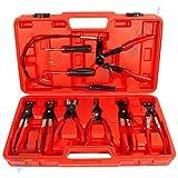 Fascetta fermatubo Pinze Set incl. Valigia Pinze stringitubo pinze set set CSKZ9T-15