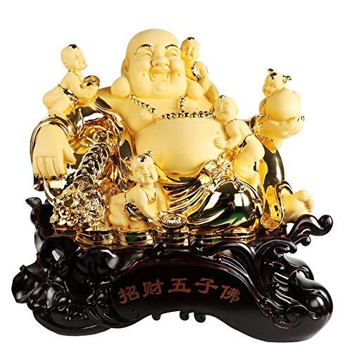 ZY&ZQ Estatua Buda/Apertura Buda jardín decoración/Hotel