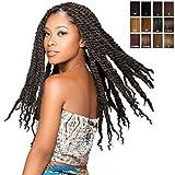 Sensationnel Reggae Braid (Marley Braid) - African Collection - Bulk, Farbe:F1B/30 (Schwarz + Rotbraun)