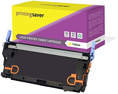 Printing Saver Gelb Premium Toner kompatibel zu Q6472A (502A) für HP Color Laserjet 3600 3600dn 3600n 3800 3800dn 3800dtn 3800n CP3505 CP3505dn CP3505n CP3505x -