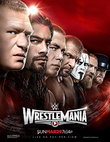 WRESTLEMANIA 31 - WWE Wrestling Event Wall Poster Print - 30CM X 43CM Brand New Wrestlemania 17 Dvd