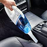 Hk Villa's 12-V Portable Car Vaccum Cleaner Multipurpose Vacuum Cleaner with Air Foot Pump Heavy Compressor for Bike,Car,Cycles,& All Other Vehicles