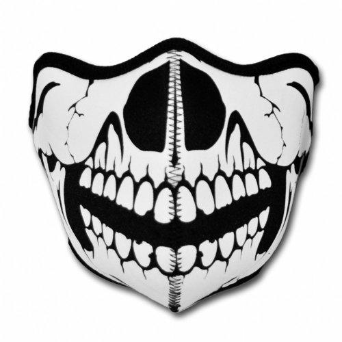 WINDMASK Neopren Biker Motorrad Maske Sturmmaske Skimaske - Skull Face Totenkopf #110