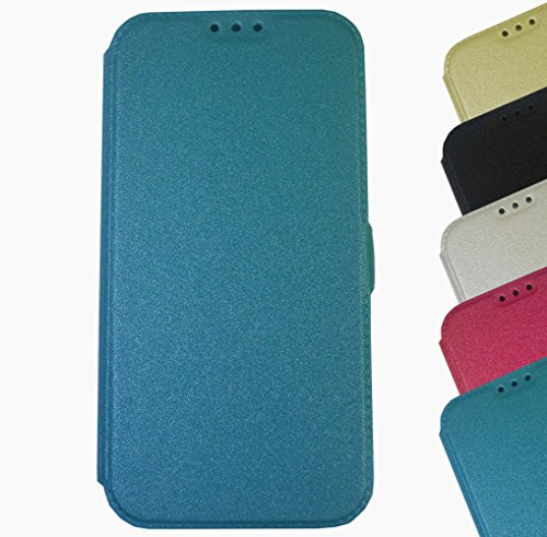 Für Nokia Lumia Touch Book Pocket Case Hülle Flip Cover Klapptasche Magnet Lumia 950 XL Schwarz Blau