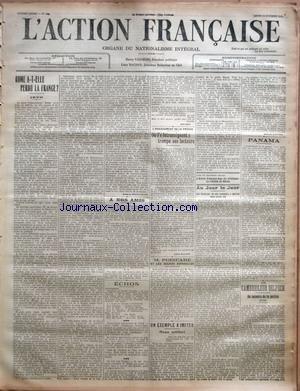ACTION FRANCAISE (L') [No 286] du 13/10/1913 -...