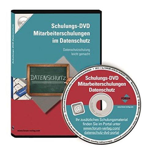 Schulungs-DVD: Mitarbeiterschulungen Datenschutz, DVD