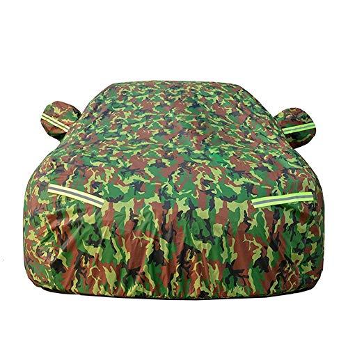 CarCover wasserdichte Auto-Regendecke für alle Jahreszeiten, mit Reißverschluss aus Baumwolle, Regenschutz für Autositze für Innenräume.