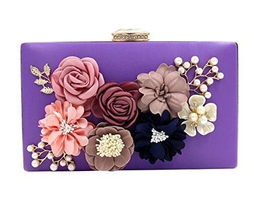 TOOKY , Damen Rucksackhandtasche violett