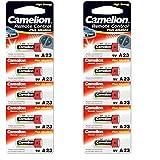 PoundMax mp05610Stück x Camelion Super Alkaline 23AE/A23/LRV08/MN2112V Alkaline Sicherheit Batterien