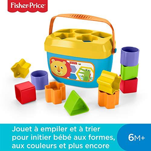 Fisher-Price Mon Trieur de Formes Jouet Bébé, Boite avec...