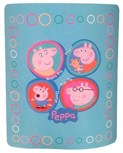 Peppa Pig Manta de vellón suave, con diseño de mariposa