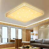 VGO® 60W ceiling Starlight Crystal effect Warm White LED Corridor Corner ceiling lamp Beautiful bathroom lamp