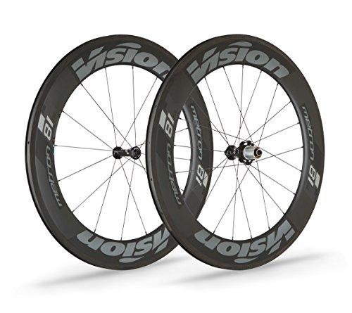 Vision Unisex 710-0020191030Metron 81SL Road Laufradsatz, schwarz, one Size -