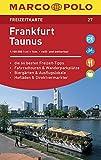 MARCO POLO Freizeitkarte Blatt 27 Frankfurt/Taunus 1:100 000: im Dispenser mit 10 Exemplaren (MARCO POLO Freizeitkarten)