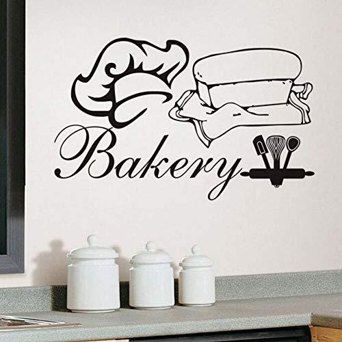 Dekoration Küche Bäckerei Kochmütze Und Kleidung Aushöhlen Wandaufkleber Wohnzimmer Dekor Dekorative Aufkleber Removable Murals - Bäckerei Schrank