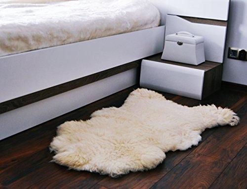 Merino Wool Alfombra Natural Piel Oveja. Bajada De