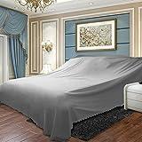 DSAQAO Sofabezug Tasche Tuch Staub, Bett Staubschutz Schützende möbeldecken-D 600x270cm(236x106inch)