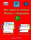 Mes cartes de révision Histoire - Géographie 5e...
