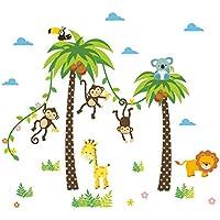 Suchergebnis Auf Amazon De Fur Wandtattoo Dschungel Baby