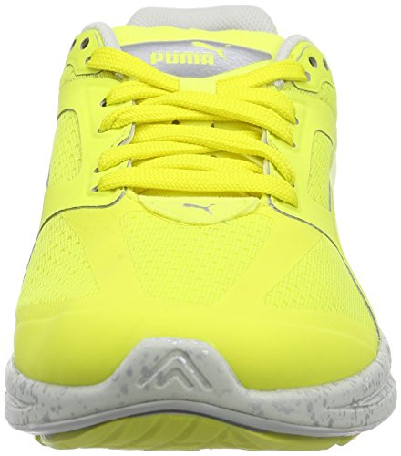 Puma IGNITE Fast Forward Unisex-Erwachsene Sneakers Gelb (fluro yellow CO 01)