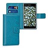 kwmobile Wallet Case Kunstlederhülle für > Sony Xperia Z1