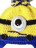 Minion Winter Hat- Warm Funny Minion Style Winter Beanie