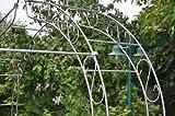 kuheiga Verbindungsstange 12mm für Laubengang Rosenbogen Rosentunnel, Rost