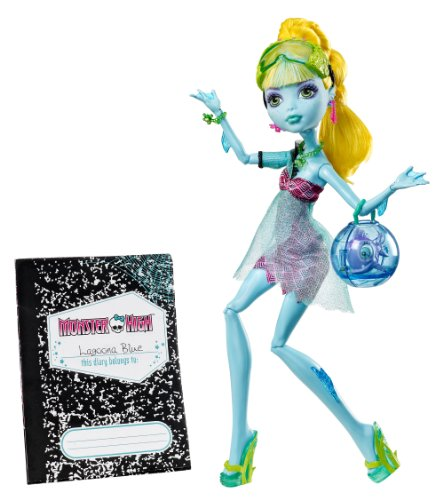 Monster High 13 Wishes Lagoona Blue Daughter Of The Sea Monster Englische Version (Lagoona Blue Schuhe)