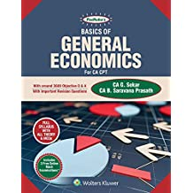 Padhuka's Basics of General Economics: For CA CPT