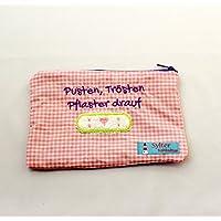 Mini Apotheke Tasche Pusten Trösten Pflaster drauf Reiseapotheke Medikamententasche