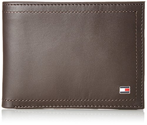 Tommy Hilfiger Harry Cc AND Coin Pocket, Porte-monnaie homme, Brown (Coffee Bean), 9x30x26 cm (W x H L)