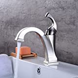 LE European Style Brush Basin Faucet hot and Cold wash Basin Faucet Bathroom Under Counter Basin Faucet