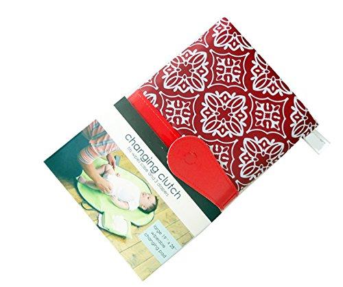 ZXYWW Windel Wickelauflage Kit Baby Kleinkinder Wasserdichte Portable Faltbare Reisetasche Lagerung - 5 Farben,E