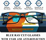 Silvercare Blue Ray Cut eyeglasses with UV420 and Anti-Reflection Protection for Healthy Eyes