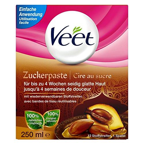 Veet Zuckerpaste, Sugaring, zur Haarentfernung, 250 ml