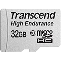 Transcend 32GB High Endurance microSD Card with Adapter