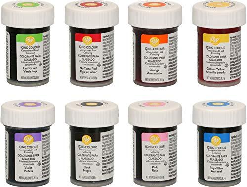 Kit di 8 coloranti alimentari wilton - edizione tadago