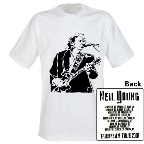 Neil Young - T-Shirt Tour 2008 (in S)