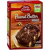 Betty Crocker Peanut Butter Cookie Brownie Bars Mix - 487 gr